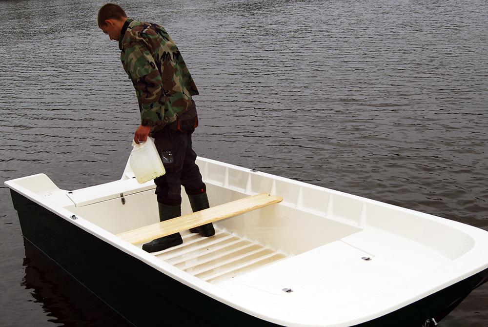 Ruderboot Motorboot,Angelboot,Trimaran Kamila 1